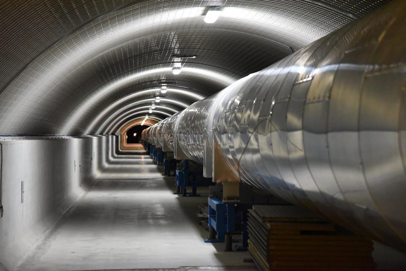 Le projet d'Astrid Lambert utilisera les données fournies par le détecteur d'ondes gravitationnelles VIRGO.